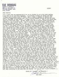 Dewar letter 1