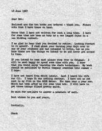 Dewar letter 2