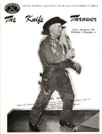 The Knife Thrower Jul/Aug