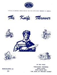 The Knife Thrower Mar/Apr