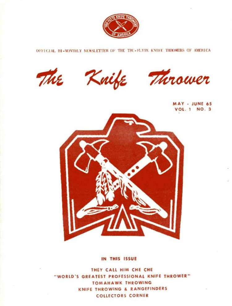 The Knife Thrower May/Jun
