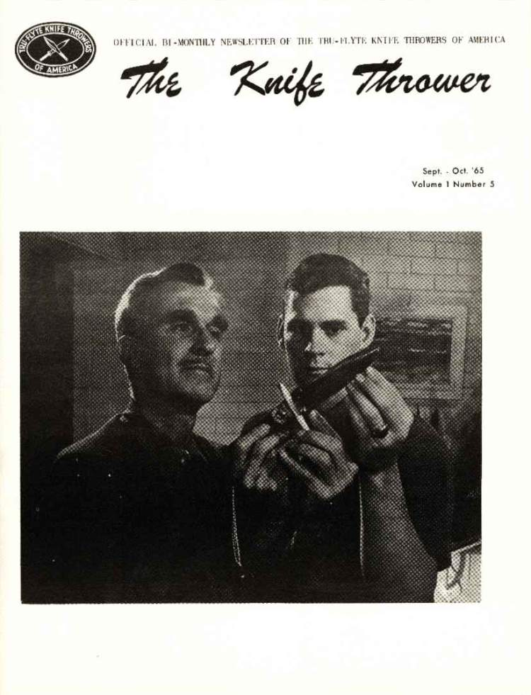 The Knife Thrower Sep/Oct