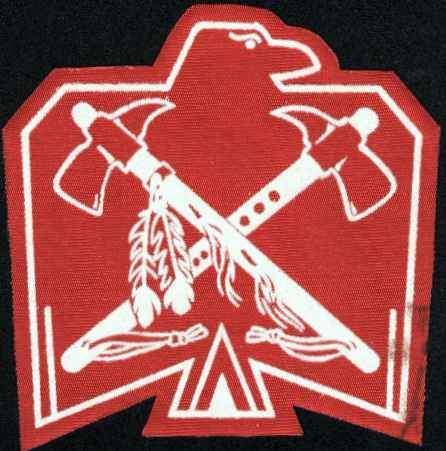 Ojibwa Thunderbird Cloth Insignia
