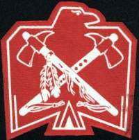 Ojibwa Thunderbird Cloth Insignia
