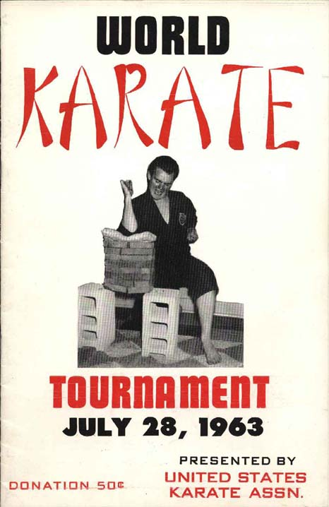 World Karate Tournament brochure July 28, 1963