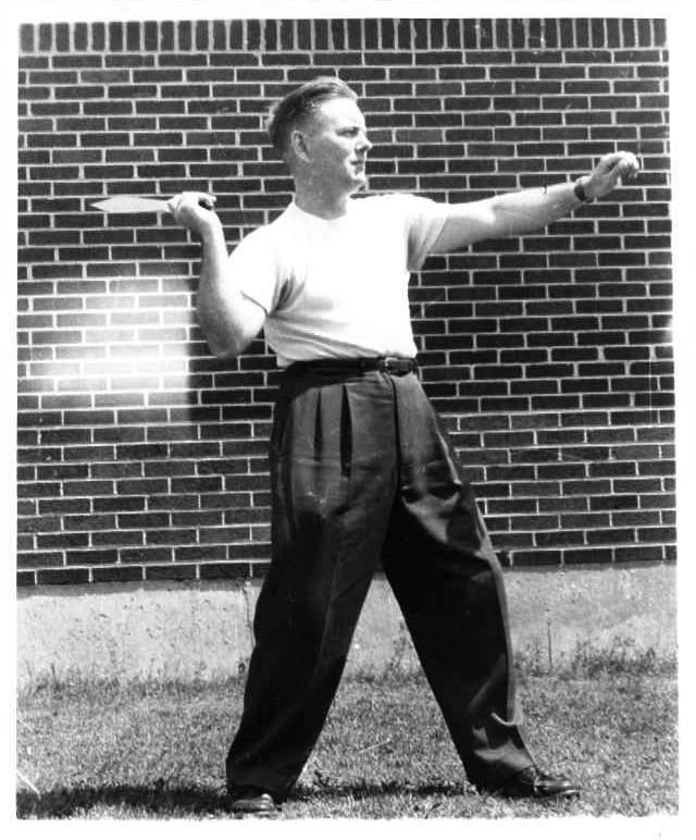 Harry McEvoy Summer 1954