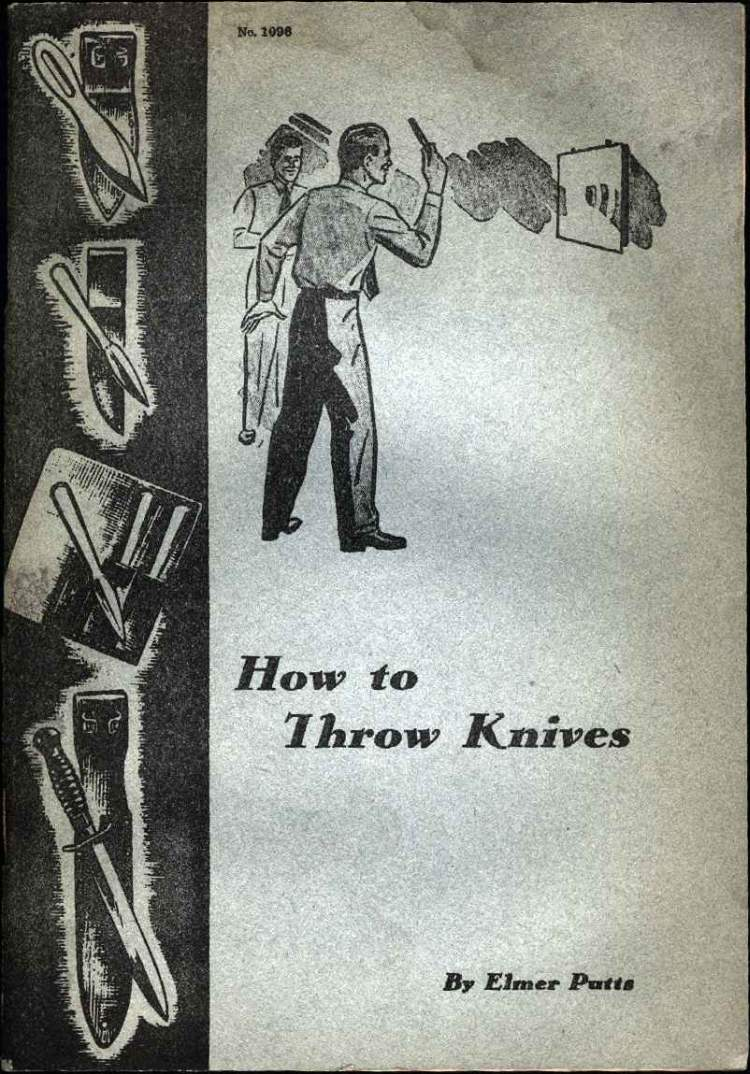How to Throw Knives by Elmer Putts
