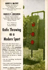 Knife Throwing as a Modern Sport book cover