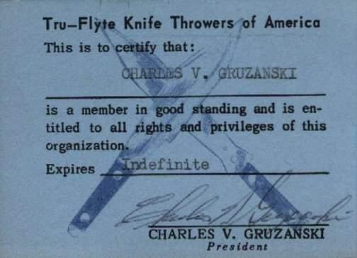 Tru-Flyte membership card